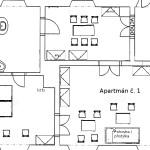 Zámecký apartmán č.1