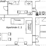 Zámecký apartmán č.2